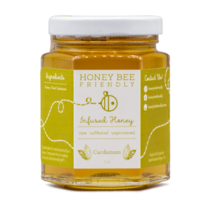 Cardamom Infused Honey