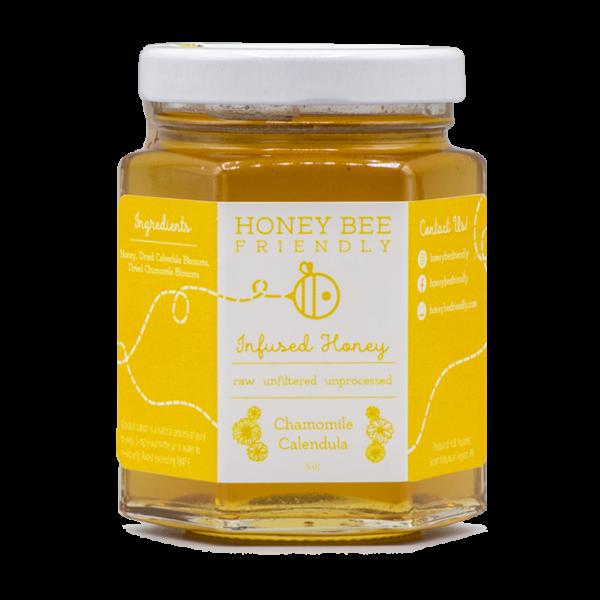 Chamomile Calendula Infused Honey