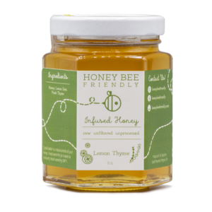 Lemon Thyme Infused Honey