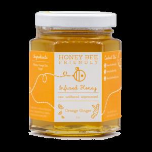 Orange Ginger Infused Honey
